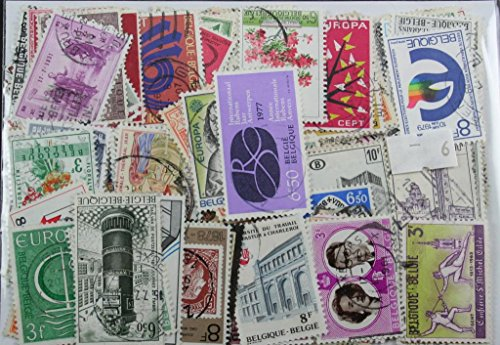 300 Belgium stamps in packet (Large) (6)