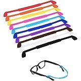 LEEQ 10 Piezas Correa de Gafas de Silicona Cordones de Gafas Retenedor de Gafas de Sol Cuerda de Gafas Antideslizante para lo
