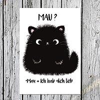 TinyTami ★ Süße Katzen Postkarte ★ Kater MOO ★