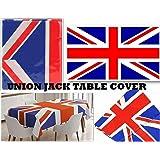 SHATCHI Gran Bretaña GB Reino Unido Union Jack servilletas/Tazas/Bunting/Cubierta de Mesa/Platos Serviettes artículos de Fies