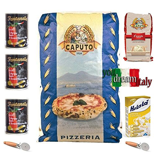 Kit Flour Caputo Blue Pizzeria with Criscito