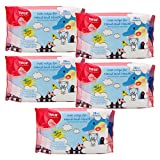 #7: Farlin Wet Wipes for Hand and Mouth 28 pcs/pack- (COMBO PACK OF 5)