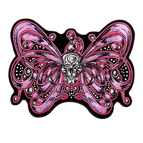 bow-skull-accented-with-rhinestones-high-thread-embroidered-iron-on-saw-on-rayon-patch-4-x-3