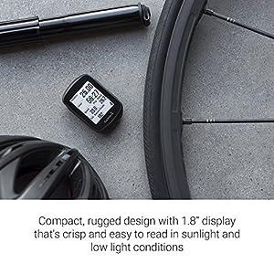 """Garmin Edge 130 130-Ciclocomputador con GPS (Pantalla de 1.8"""", autonomía de 15 h) Color, Adultos Unisex, Negro, Talla Única"""