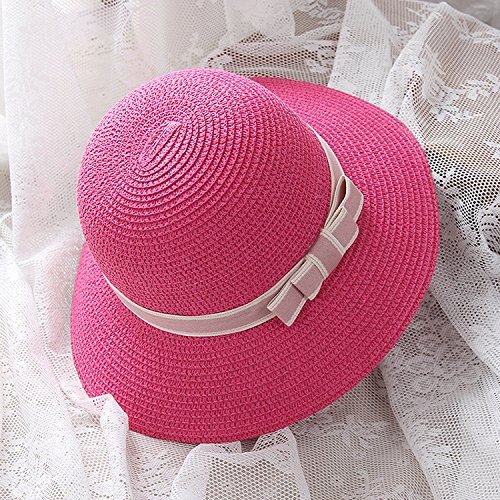 The Summer Vacation Travel Hat Lady All-Match Fisherman Hat Outdoor Beach Sun Hat Beach Hat,Sweet Butterfly,Adult (Sweet Angel Mädchen Kostüme)