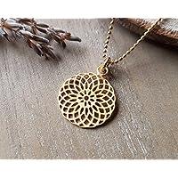 Mandala Gold Kette