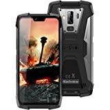 Móvil Resistente, Blackview BV9700 Pro IP68 Smartphone Impermeable, 6GB+128GB SD 256GB, Dual SIM 4G Moviles Libres, 16MP+8MP+