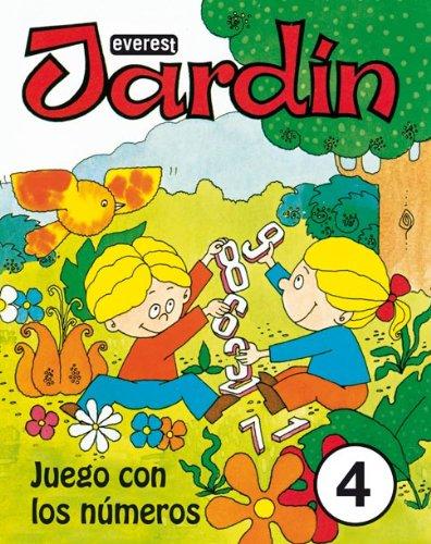 Jardín. Juego con los números 4-9788424172688