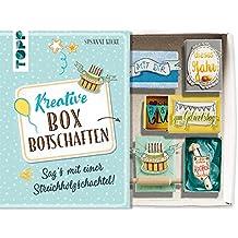 Kreative Boxbotschaften. Sag's mit einer Streichholzschachtel: Mit hübschen Ausschneidemotiven zum Verzieren der eigenen Schachtelgrüße (kreativ.kompakt.)