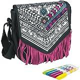 Cra-Z-Art Shimmer N' Sparkle - Juego de diseño, bolso para decorar con rotuladores, multicolor (ColorBaby 85063)