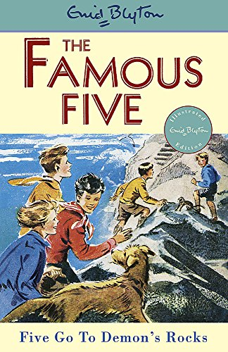 Five Go To Demon's Rocks: Classic cover edition: Book 19 (Famous Five)