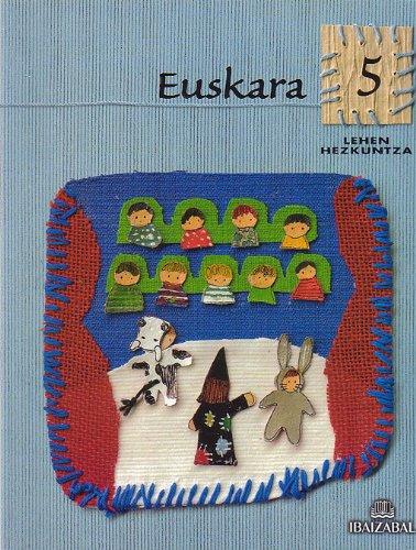 Euskara -LMH 5-: Kometa Ibiltaria proiektua