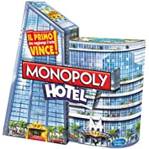 Hasbro A2142 Monopoly Hotels Board Game [English Language Not Guaranteed]