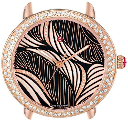 MICHELE Women's Swiss Quartz Stainless Steel Automatic Watch, Color:Rose Gold-Toned (Model: MW21B01B4091)