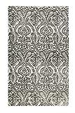Esprit Home | Handweb Kurzflor Teppich aus Baumwolle | Arvid Kelim ESP-6123-01 | (130 x 190 cm, grau Taupe)