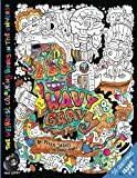 Wavy Gravy: The Weirdest colouring book in the universe #3: by The Doodle Monkey: Volume 3 (The Monkeys in My Head Mini Series)