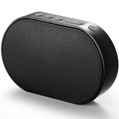 GGMM Altoparlante Bluetooth Senza Fili con Amazon Alexa Suono Stereo Cassa Portatile Speaker Multiroom Altoparlante 10W Nero