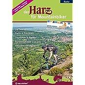 """Der Harz für Mountainbiker: Offizieller Mountainbikeführer der """"Volksbank-Arena-Harz"""""""