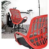 Homy Casa INC. homycasa Schreibtisch Stühle, Gaming, Armlehne Stühle, Büro Computer Stuhl, rot & schwarz