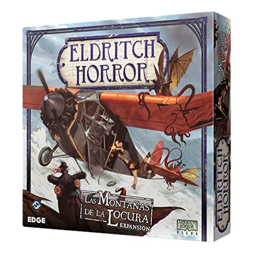 Fantasy Flight Games Eldritch Horror - Las montañas de la Locura, Juego de Mesa (Edge Entertainment EH03)
