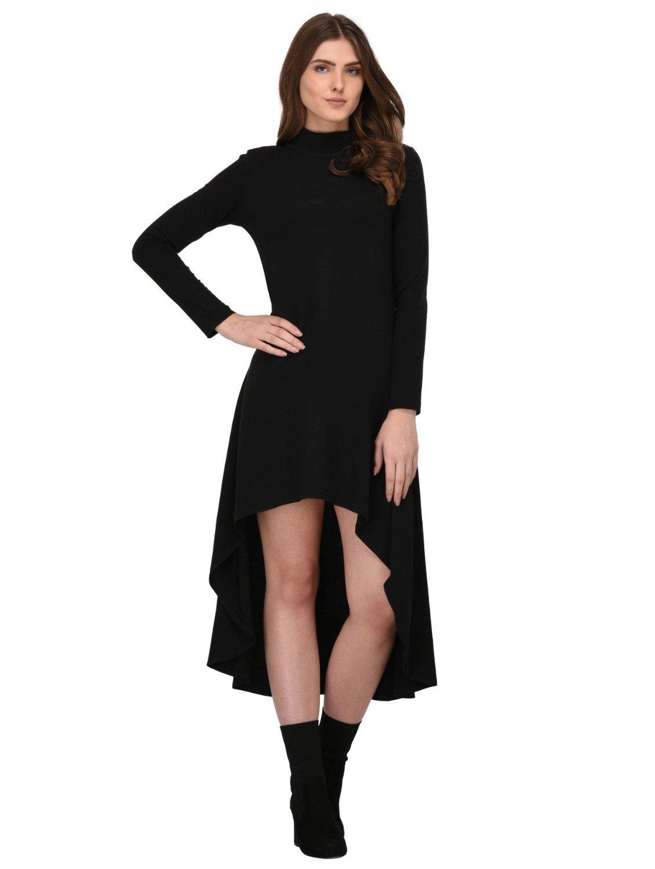 Rigo-Black-High-Low-Dress-for-Women ... 3ec121b2c4