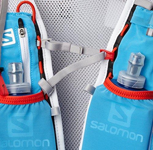 Salomon S Trinkrucksack Blue Line/White