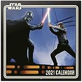 ERIK - Calendario de pared 2021 Star Wars, 30x30 cm, Producto Oficial (Incluye póster de regalo)