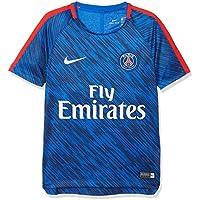 Nike Paris Saint-Germain Dri-fit Squad Alto de fútbol para niño, Niño, Color Hyper Cobalt/Hyper Cobalt/Rush Red/(White), tamaño FR : M (Taille Fabricant : M)