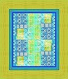 Bassetti VIETRI Tischdecke, Baumwolle, Blau, 140 x 170 x 1 cm in