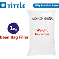 TITTLE Silky Beans 1 KG Extra for Bean Bag Filler/Refill/Filling.