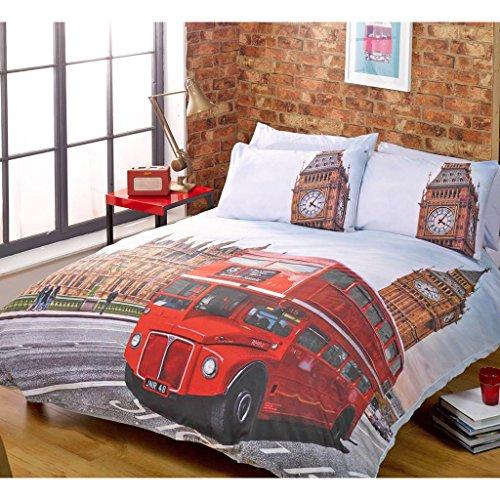 Just Contempo - Juego de ropa de cama, incluye funda nórdica y...