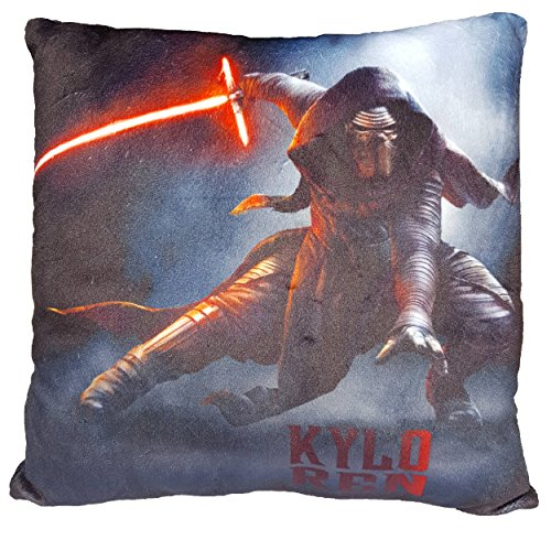 Daum - Pimp Up Your Life 15994 Disney Star Wars Manta Cojín Kylo REN, Peluche, 30 cm