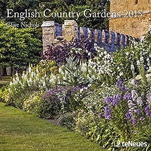 2015 English Country Gardens Calendar 17.5 x 17.5cm