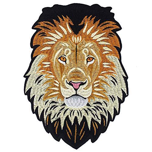 EMDOMO Parches Hierro Parte Trasera Bordados león