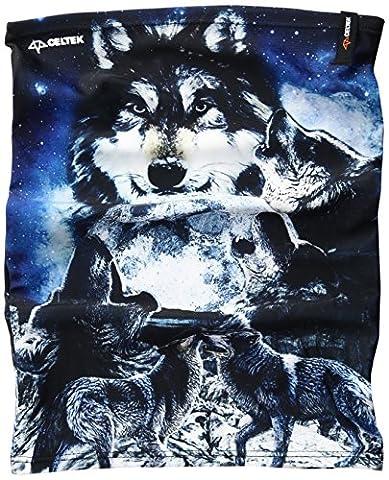 Celtek Men's Payson Neck Gaiter, One Size, Wolf