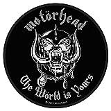 Aufnäher Patch - Motörhead - The Wörld Is Yours