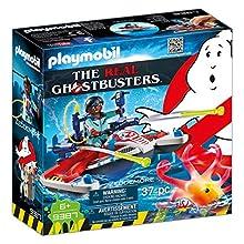 Playmobil 9387 Ghostbusters Jetski, Multi