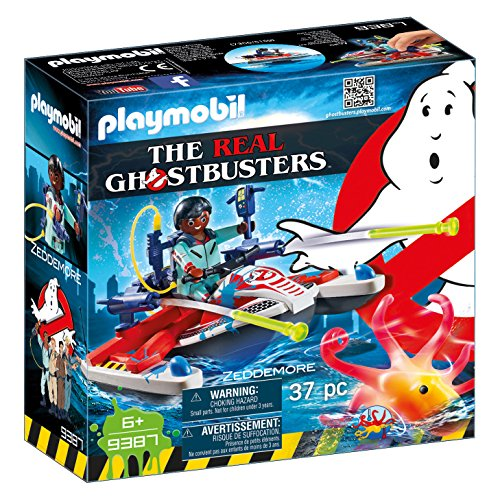 Playmobil 9387 - Ghostbusters - Zeddemore con Acqua Scooter