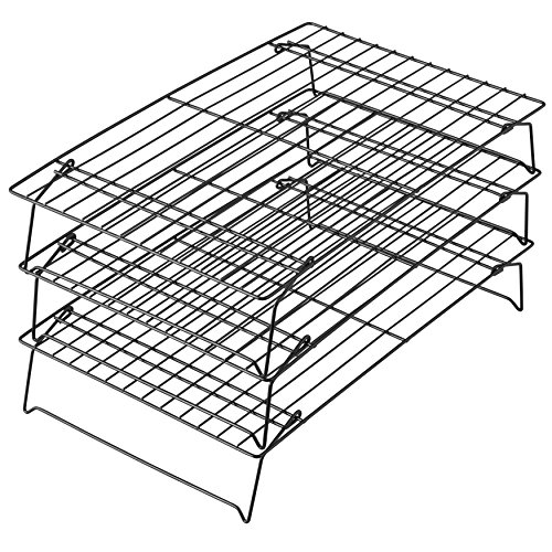 Wilton 3-Stöckiges Abkühlgestell, Excelle Elite, Antihaft, 40,4 x 25,1 cm (X Backen 8 Rack 10)
