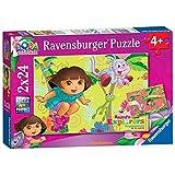 Ravensburger - Puzzle Dora La Exploradora de 24 piezas (27.5x19.2 cm) (8877)
