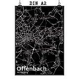 Mr. & Mrs. Panda Poster DIN A2 Stadt Offenbach Stadt Black