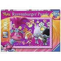 Ravensburger Trolls Hairy Adventures 100 Pieces Jigsaws & Puzzles
