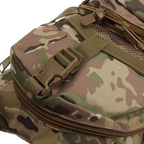 Taktisch Rucksack Backpack Sporttasche Schulrucksack Freizeitrucksack Reisen Wandern Farbe wie Army CP