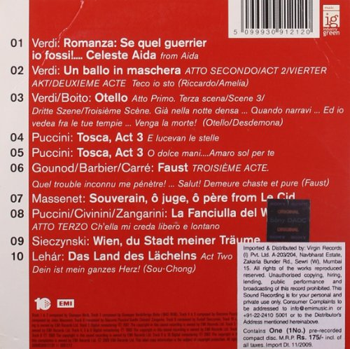 10 Great Songs [Import anglais]