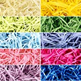 Yaomiao 10 Colors 300g Easter Grass Easter Basket Grass Filler Easter Grass Paper Shred Party Supplies Fluffy Grass Decorations