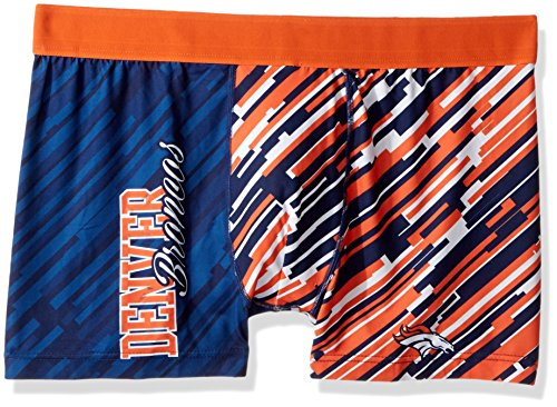 Forever Collectibles NFL Wordmark Unterwäsche, Herren, Denver Broncos Wordmark Underwear Large, Denver Broncos, Large