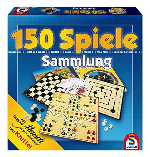 150 Spiele Sammlung Schmidt Spiele