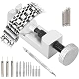 Kit de herramientas de extracción de correa de reloj, 20 en 1, kit de herramientas de reparación de pines de eslabones para r
