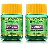 Dr. Vaidya's New Age Ayurveda | Diabex Pills | Ayurvedic Pills For Blood Sugar Control | 30 Pills Each (Pack of 2)