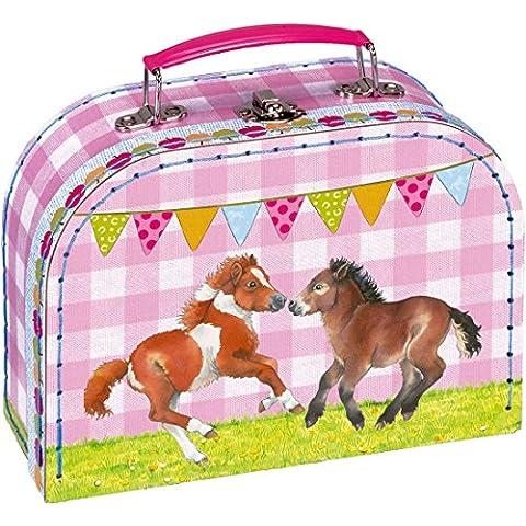 Gioco valigetta mio piccolo Ponyhof con dolce motivo e con